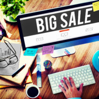 Big Sale Bonus Buying Cheap Discount Promotion Concept