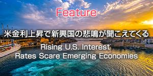 米金利上昇で新興国の悲鳴が聞こえてくる